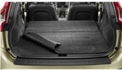Genuine Volvo XC90 (-14) Cargo / Boot Textile Reversible Mat (5 Seater Grey)